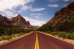 Red road Stock Photography