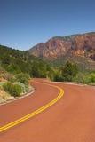 Red road upward Stock Photos