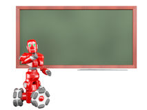 The red robot Royalty Free Stock Photo