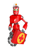 The red robot Stock Photography