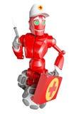 The red robot Stock Photos