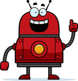 Red Robot Idea Stock Photos