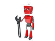 Red robot Royalty Free Stock Photos