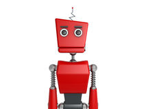 Red robot Royalty Free Stock Photography