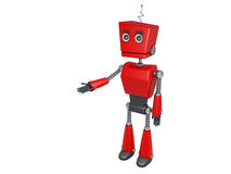 Red robot Royalty Free Stock Photo