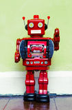 Red robot Royalty Free Stock Image