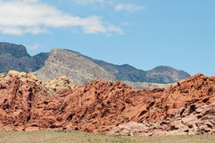 Red Rock. Canyon in las vegas Stock Photography