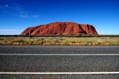 Red rock of Alice Spring, Yulara, Mutitjulu Royalty Free Stock Photography