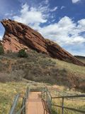 Red Rock Amphitheater Royalty Free Stock Image