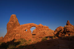 Red Rock Arches Stock Image