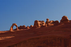 Red Rock Arches Royalty Free Stock Photo