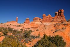 Red Rock Arches NationalPark Royalty Free Stock Images