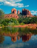 Red Rock, Arizona. Red Rock in Oak Creek Canyonm, Arizona stock photo