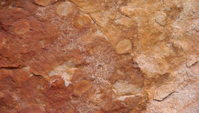 Red rock in Australia Royalty Free Stock Image