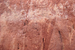 Red rock in Australia. Patterns in red rock in Australia's outback Stock Image
