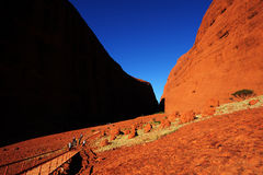 Red rock of Australia Royalty Free Stock Images