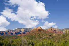 Red Rock Butte Royalty Free Stock Image
