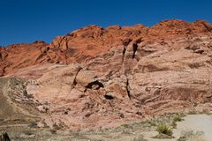 Red Rock Canyon A Royalty Free Stock Image