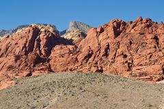 Red Rock Canyon 2 Stock Photo