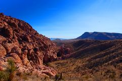 Red Rock Canyon. In las vegas Royalty Free Stock Images