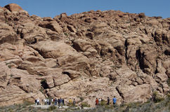 Red Rock Canyon 3. This is a photo of Red Rock Canyon in Nevada stock image