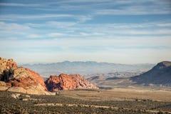 Red Rock Canyon above Las Vegas Royalty Free Stock Photos