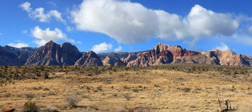 Red rock canyon landscape Royalty Free Stock Photography