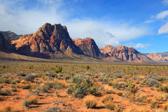 Red rock canyon landscape Stock Image
