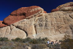 Red Rock Canyon in Las Vegas Royalty Free Stock Image