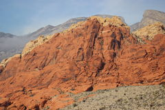 Red Rock Canyon Las Vegas Nevada. Red Rock Canyon near Las Vegas Nevada, desert landscape Royalty Free Stock Photography
