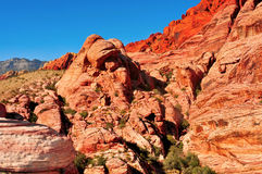 Red Rock Canyon National Royalty Free Stock Photos