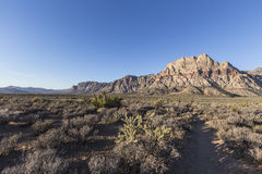 Red Rock Canyon National Conservation Area Morning Stock Image