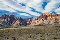 Red Rock Canyon National Conservation Area royalty free stock photography