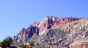 Red Rock Canyon National Park. View of mountains from preserve loop drive Royalty Free Stock Images