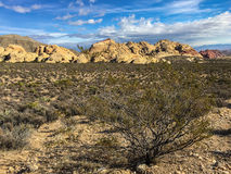 Red rock canyon near Las Vegas Royalty Free Stock Photos