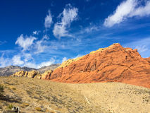 Red rock canyon near Las Vegas Royalty Free Stock Image
