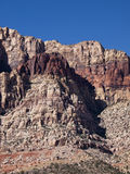 Red Rock Canyon near Las Vegas Nevada. Colourful sandstone climbing area in desert Stock Photography