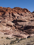 Red Rock Canyon near Las Vegas Nevada. Colourful sandstone rock climbing area in the desert Stock Photo