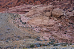 Red Rock canyon , Nevada. Royalty Free Stock Photos