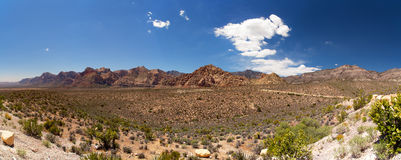 Red Rock Canyon pano Royalty Free Stock Images