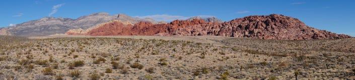 Red Rock Canyon. Panorama of Red Rock Canyon Las Vegas Stock Image