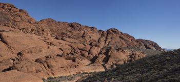 Red Rock Canyon panorama Stock Image