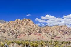Red Rock Canyon panoramic, Mojave Desert, Nevada, USA Royalty Free Stock Image