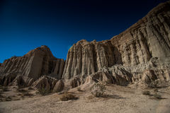 Red Rock Canyon State Park. Features scenic desert cliffs, buttes and spectacular rock formations. The park is located where the southernmost tip of the Sierra Royalty Free Stock Photos