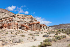 Red Rock canyon in sunny day Royalty Free Stock Photography