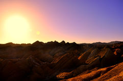 Red rock canyon. At sunrise Royalty Free Stock Photos