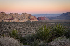Red Rock Canyon Sunset Royalty Free Stock Photo