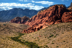 Red Rock Canyon in United States Royalty Free Stock Image