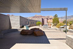 Red Rock Canyon visitor center observations Nevada. Stock Photos