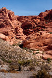 Red Rock Canyon west of Las Vegas, Nevada Royalty Free Stock Photography